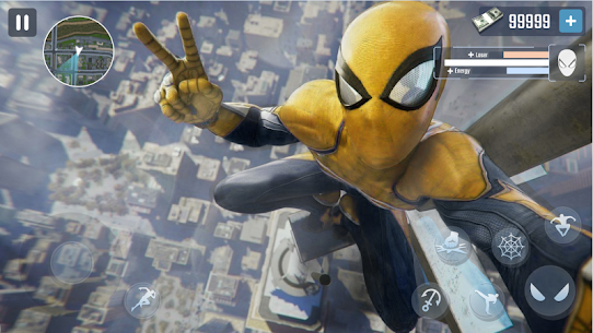 Spider Rope Hero – Gangster New York City 5