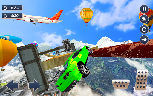 Mega Ramp Car Simulator u2013 Impossible 3D Car Stunts 5.2 Screenshots 8