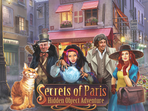 Secrets of Paris: Hidden Objects Game apkpoly screenshots 16