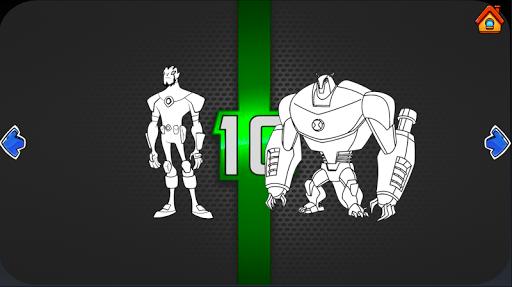 Ben Coloring 10 Ultimate Heros 1.07 Screenshots 4