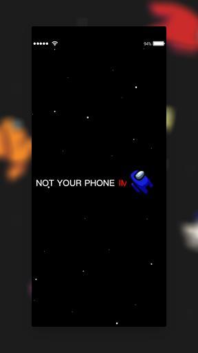 AmongLock - Among Us Lock Screen android2mod screenshots 2