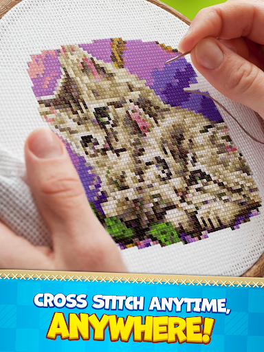 CROSS-STITCH: COLORING BOOK modavailable screenshots 7