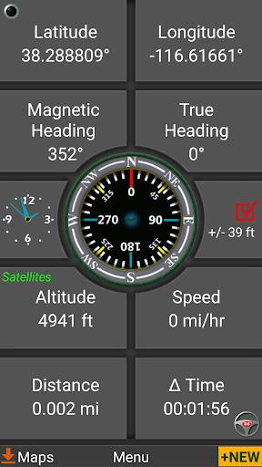Polaris GPS Navigation: Hiking, Marine, Offroad 9.16 Screenshots 2
