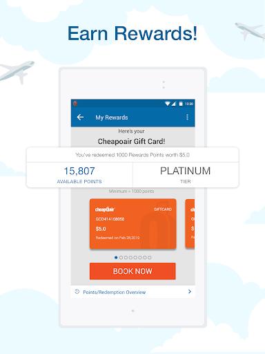 CheapOair: Cheap Flights, Cheap Hotels Booking App 3.20.18 Screenshots 20
