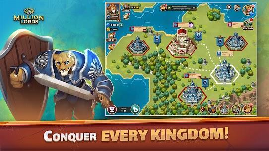 Million Lords: MMO de estrategia en tiempo real. 3