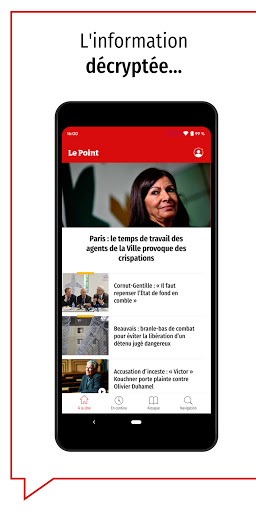 Le Point : journal, actualitu00e9s et infos en continu android2mod screenshots 1