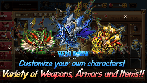 Hero Town online : 2D MMORPG 4.37 screenshots 5
