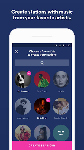 Spotify Stations: Streaming radio & music stations 0.2.99.90 Screenshots 2