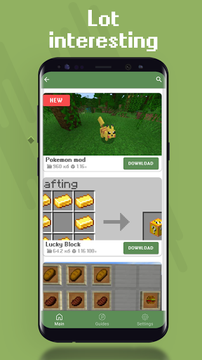 AddMods | Mods for Minecraft PE (MCPE) Apkfinish screenshots 3