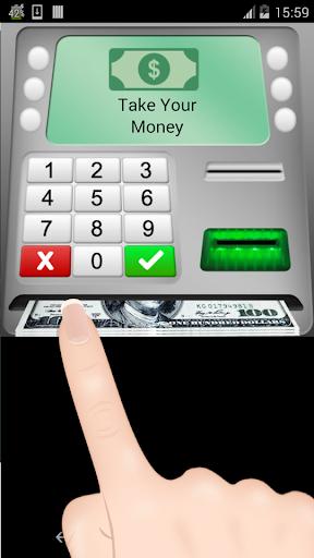 ATM cash and money simulator game 2 Apkfinish screenshots 2