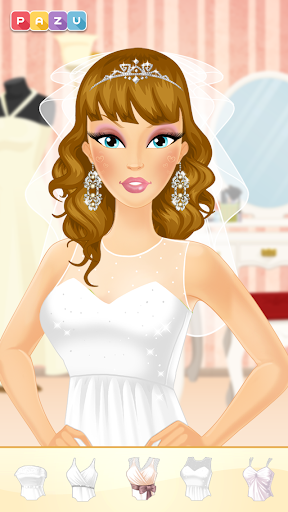 Makeup Girls - Wedding dress up games for kids  screenshots 1