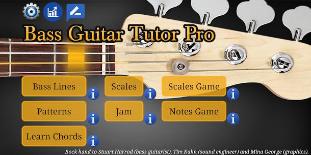 Bass Guitar Tutor Pro APK (PAID) Download Latest 8