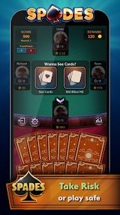 Spades - Offline Free Card Games screenshots 2