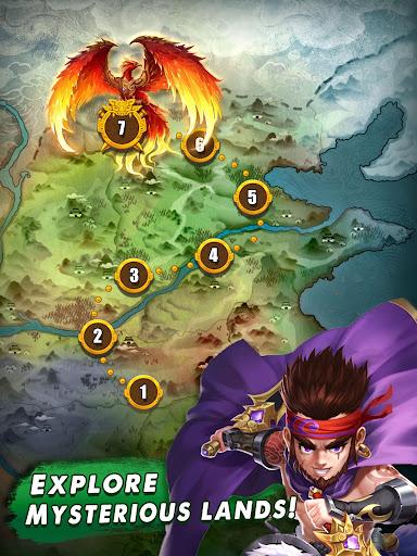 Three Kingdoms & Puzzles: Match 3 RPG screenshots 9