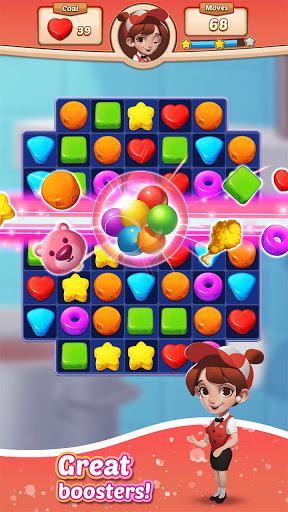 Cooking Crush Legend - Free New Match 3 Puzzle screenshots 3