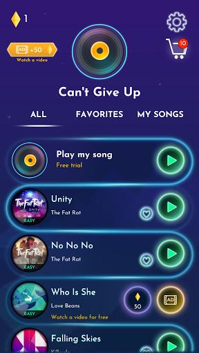 Beat Attack - EDM rhythm game 2021.80 screenshots 8