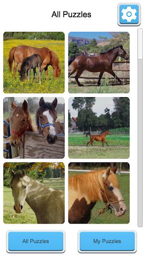 Jigsaw Horses apktreat screenshots 1
