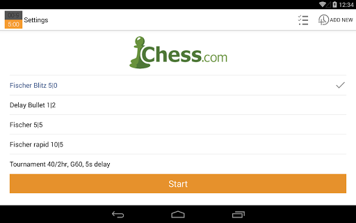 Chess Clock 1.0.4 Screenshots 10