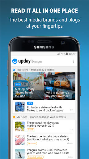 upday for Samsung 3.0.14225 APK screenshots 1