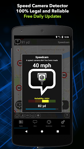 Speed Camera Detector Free 7.5.2 Screenshots 1