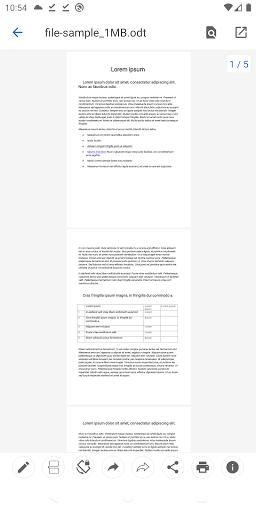 Open Office Viewer - Open Doc Format & PDF Reader apktram screenshots 4