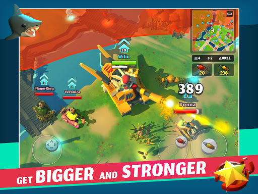 PvPets: Tank Battle Royale 1.4.1.10225 screenshots 9