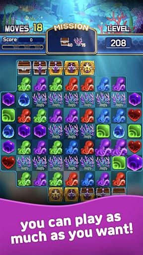 Jewel Abyss: Match3 puzzle  screenshots 2