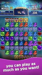Jewel Abyss: Match3 puzzle Apkfinish screenshots 2
