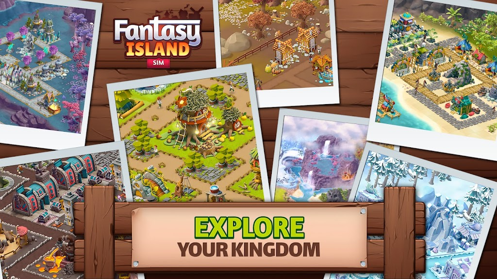 Fantasy Island Sim: Fun Forest Adventure  poster 2