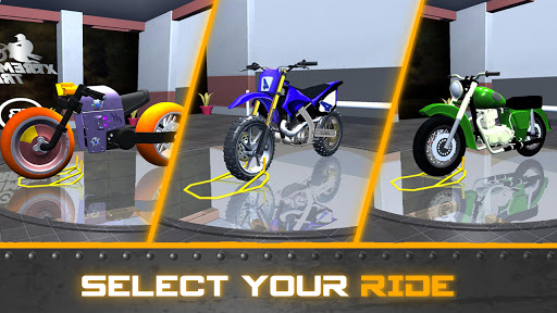Xtreme trail: 3D Racing - Offline Dirt Bike Stunts android2mod screenshots 8