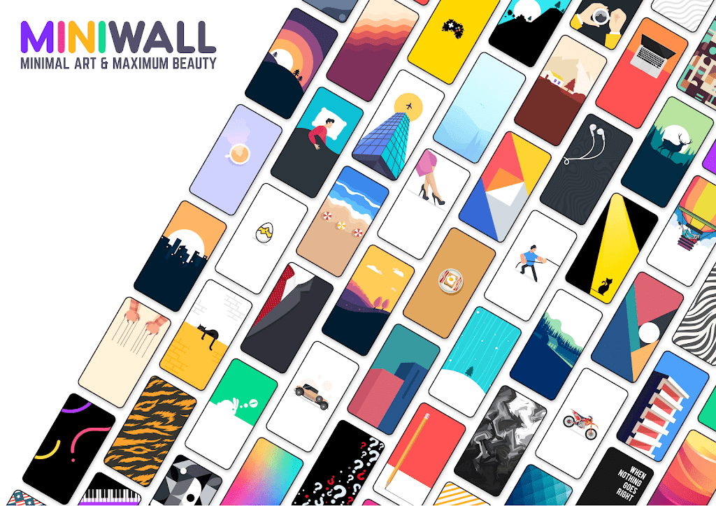 MiniWall Wallpapers  poster 0