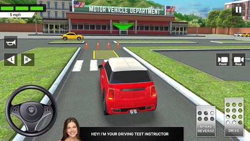 City Car Driving & Parking School Test Simulator 3.0 screenshots 1