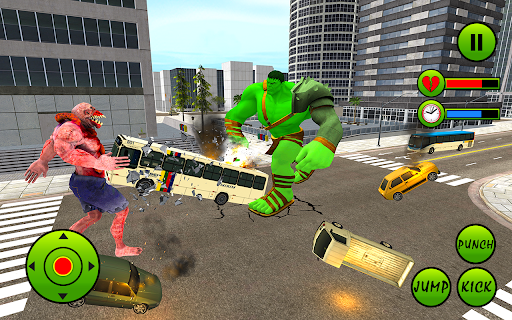 Incredible Monster Hero City Battle New Games 2021  screenshots 5