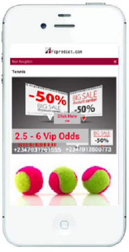 fcpredict.com official football,tennis prediction. screenshot 3