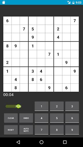 Sudoku apkmartins screenshots 1