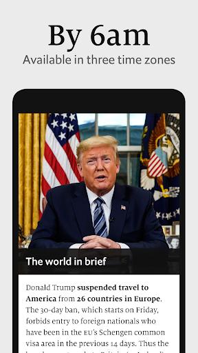 The Economist Espresso. Daily News  screenshots 2