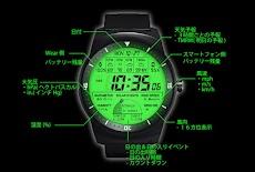 F03 WatchFace for LG G Watch Rのおすすめ画像2