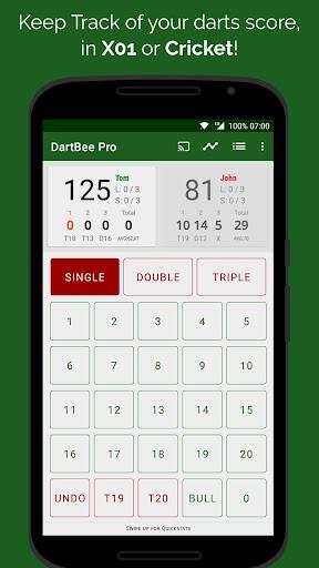 dartbee - darts scoreboard pro screenshot 1