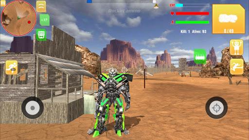 Robot War Free Fire - Survival battleground Squad 1.0 screenshots 4