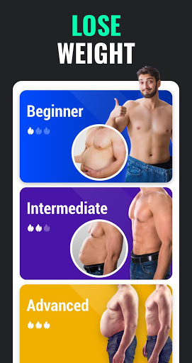 Lose Weight App for Men - Weight Loss in 30 Days apklade screenshots 1