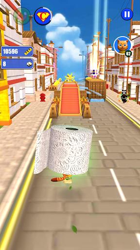Toilet Paper Cat Run apktram screenshots 11