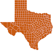 Texas Map Puzzle