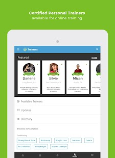 Workout Trainer: home fitness coach Screenshot