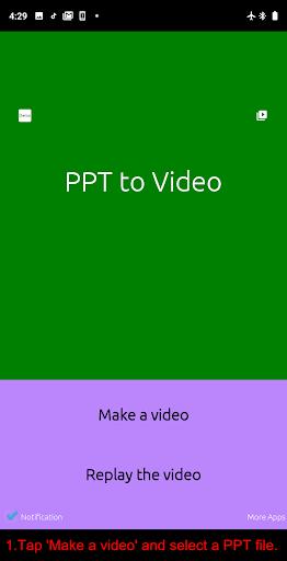 PPT to Video 1.2.5 screenshots 1