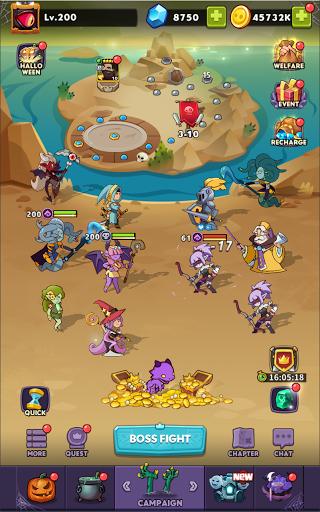 Hero Summoner - Free Idle Game  screenshots 16