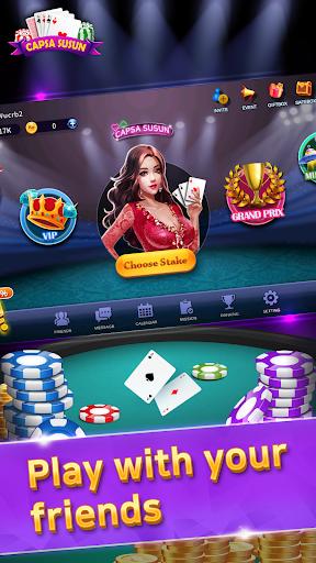 capsa susun nesia - game kartu online nesiaplay screenshot 1