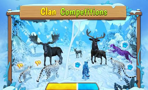 Snow Leopard Family Sim Online 2.4.4 screenshots 5
