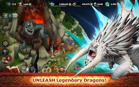 Dragons : Rise of Berk Mod Android 4