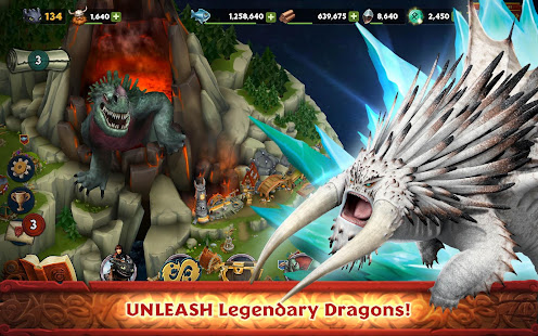 Dragons: Rise of Berk Unlimited Money