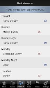 Free RainAware Weather Timer 5